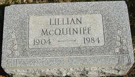 MCQUINIFF, LILLIAN - Franklin County, Ohio   LILLIAN MCQUINIFF - Ohio Gravestone Photos