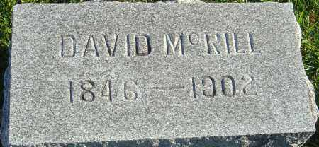 MCRILL, DAVID - Franklin County, Ohio | DAVID MCRILL - Ohio Gravestone Photos