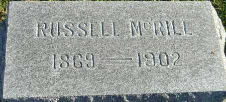 MCRILL, RUSSELL - Franklin County, Ohio | RUSSELL MCRILL - Ohio Gravestone Photos