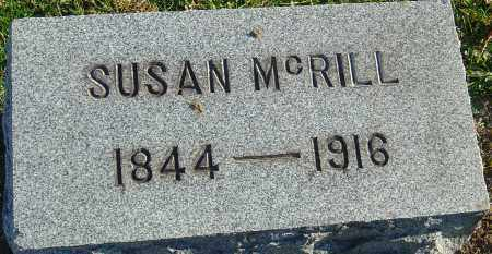 MCRILL, SUSAN - Franklin County, Ohio | SUSAN MCRILL - Ohio Gravestone Photos