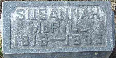 MCRILL, SUSANNAH - Franklin County, Ohio | SUSANNAH MCRILL - Ohio Gravestone Photos