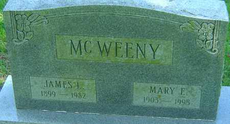 MCWEENY, MARY E - Franklin County, Ohio | MARY E MCWEENY - Ohio Gravestone Photos