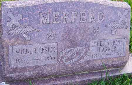 MEFFERD, WILBUR - Franklin County, Ohio | WILBUR MEFFERD - Ohio Gravestone Photos