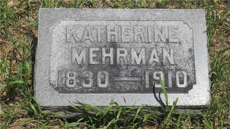 MEHRMAN, KATHERINE - Franklin County, Ohio | KATHERINE MEHRMAN - Ohio Gravestone Photos