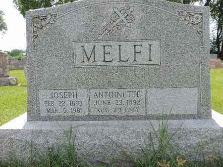 MELFI, ANTOINETTE - Franklin County, Ohio | ANTOINETTE MELFI - Ohio Gravestone Photos
