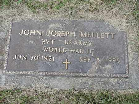 MELLETT, JOHN JOSEPH - Franklin County, Ohio | JOHN JOSEPH MELLETT - Ohio Gravestone Photos