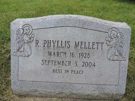 MELLETT, R. PHYLLIS - Franklin County, Ohio | R. PHYLLIS MELLETT - Ohio Gravestone Photos