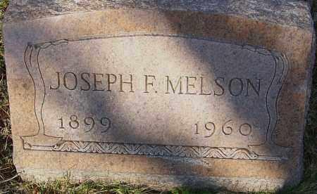 MELSON, JOSEPH F - Franklin County, Ohio | JOSEPH F MELSON - Ohio Gravestone Photos