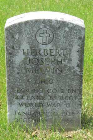 MELVIN, HERBERT JOSEPH - Franklin County, Ohio | HERBERT JOSEPH MELVIN - Ohio Gravestone Photos