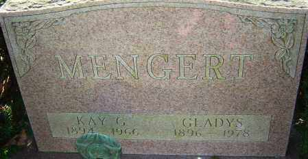 MENGERT, GLADYS - Franklin County, Ohio | GLADYS MENGERT - Ohio Gravestone Photos