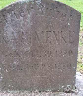 MENKE, KARL - Franklin County, Ohio   KARL MENKE - Ohio Gravestone Photos