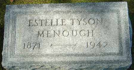 "MENOUGH, ESTELLE ""STELLA"" - Franklin County, Ohio 