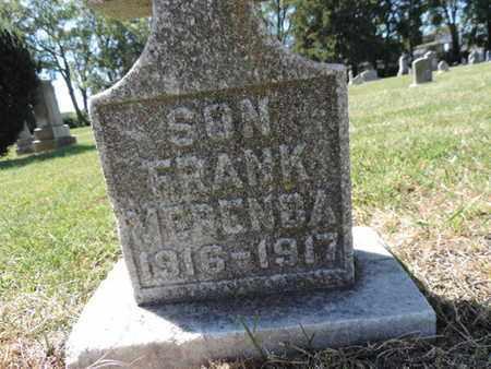 MERENDA, FRANK - Franklin County, Ohio | FRANK MERENDA - Ohio Gravestone Photos