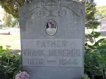 MERENDO, FRANK - Franklin County, Ohio | FRANK MERENDO - Ohio Gravestone Photos
