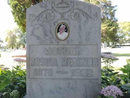 MERENDO, ROSINA - Franklin County, Ohio | ROSINA MERENDO - Ohio Gravestone Photos