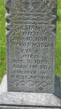 MERION, EVA A. - Franklin County, Ohio | EVA A. MERION - Ohio Gravestone Photos