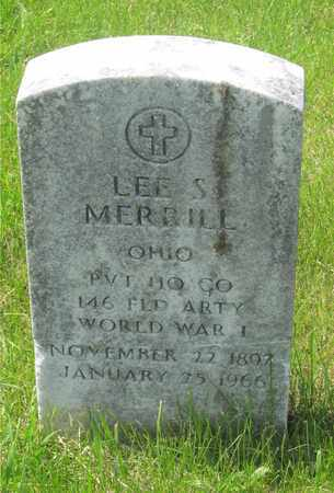 MERRILL, LEE S. - Franklin County, Ohio | LEE S. MERRILL - Ohio Gravestone Photos