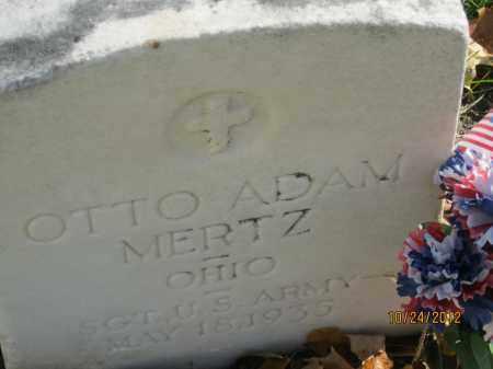 MERTZ, OTTO ADAM - Franklin County, Ohio   OTTO ADAM MERTZ - Ohio Gravestone Photos