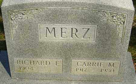 MERZ, CARRIE M - Franklin County, Ohio | CARRIE M MERZ - Ohio Gravestone Photos