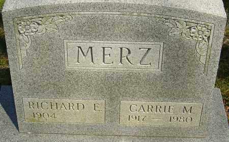 MERZ, CARRIE M - Franklin County, Ohio   CARRIE M MERZ - Ohio Gravestone Photos