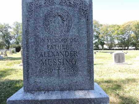 MESSING, ALEXANDER - Franklin County, Ohio | ALEXANDER MESSING - Ohio Gravestone Photos