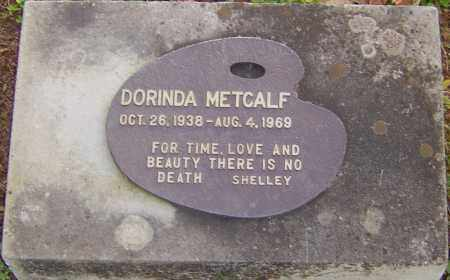 METCALF, DORINDA - Franklin County, Ohio | DORINDA METCALF - Ohio Gravestone Photos