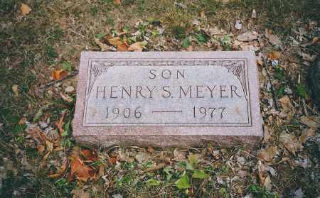 MEYER, HENRY S. - Franklin County, Ohio | HENRY S. MEYER - Ohio Gravestone Photos