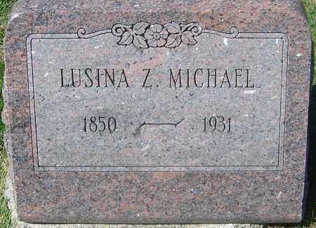 HAYES MICHAEL, LUSINA ZELMA - Franklin County, Ohio | LUSINA ZELMA HAYES MICHAEL - Ohio Gravestone Photos