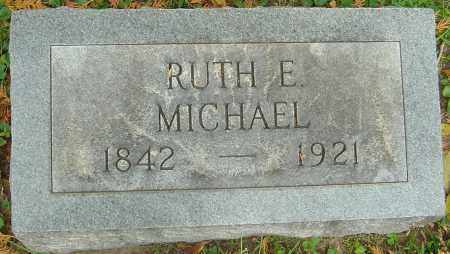 MICHAEL, RUTH E - Franklin County, Ohio | RUTH E MICHAEL - Ohio Gravestone Photos