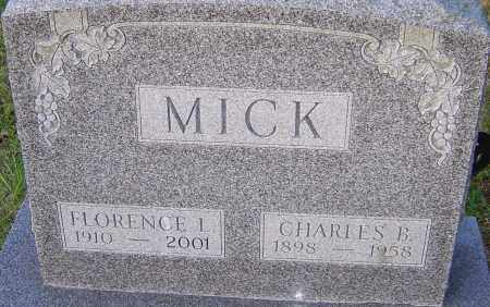 MICK, CHARLES - Franklin County, Ohio | CHARLES MICK - Ohio Gravestone Photos