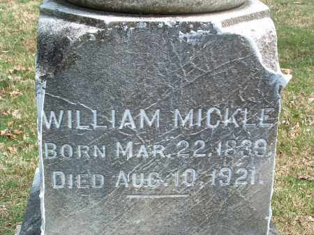 MICKLE, WILLIAM YOUNG - Franklin County, Ohio | WILLIAM YOUNG MICKLE - Ohio Gravestone Photos