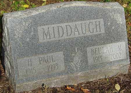 MIDDAUGH, BEULAH - Franklin County, Ohio | BEULAH MIDDAUGH - Ohio Gravestone Photos