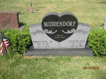 MIDDENDORF, ROBERT EARL SR - Franklin County, Ohio | ROBERT EARL SR MIDDENDORF - Ohio Gravestone Photos