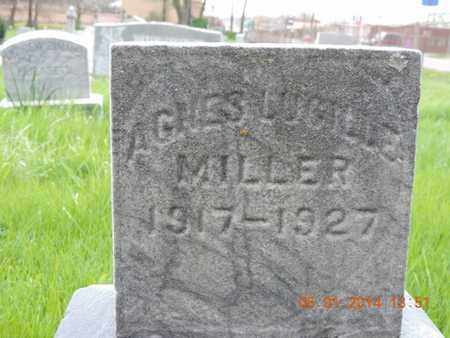 MILLER, AGNES - Franklin County, Ohio | AGNES MILLER - Ohio Gravestone Photos