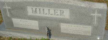 MILLER, BETTY J - Franklin County, Ohio | BETTY J MILLER - Ohio Gravestone Photos