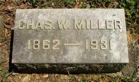 MILLER, CHAS. W. - Franklin County, Ohio | CHAS. W. MILLER - Ohio Gravestone Photos