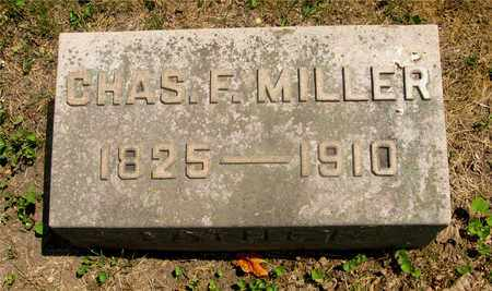 MILLER, CHAS F. - Franklin County, Ohio | CHAS F. MILLER - Ohio Gravestone Photos