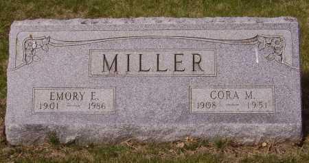 MILLER, EMORY E. - Franklin County, Ohio | EMORY E. MILLER - Ohio Gravestone Photos