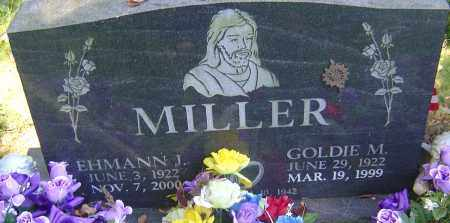 MILLER, EHMANN J - Franklin County, Ohio | EHMANN J MILLER - Ohio Gravestone Photos