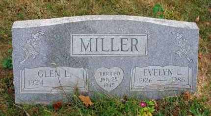 MILLER, EVELYN L. - Franklin County, Ohio | EVELYN L. MILLER - Ohio Gravestone Photos