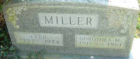 MILLER, FRED - Franklin County, Ohio | FRED MILLER - Ohio Gravestone Photos