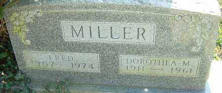 MILLER, DOROTHEA M - Franklin County, Ohio | DOROTHEA M MILLER - Ohio Gravestone Photos