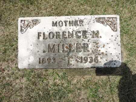 MILLER, FLORENCE M. - Franklin County, Ohio   FLORENCE M. MILLER - Ohio Gravestone Photos