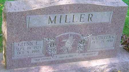 MILLER, GLENN E - Franklin County, Ohio | GLENN E MILLER - Ohio Gravestone Photos