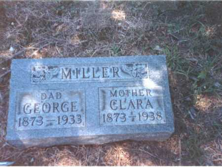 MILLER, GEORGE - Franklin County, Ohio | GEORGE MILLER - Ohio Gravestone Photos