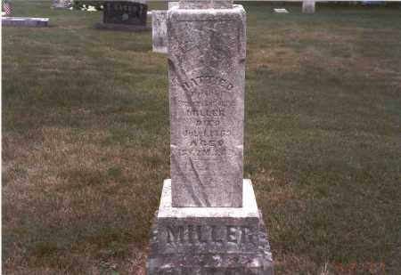 MILLER, HATTIE D. - Franklin County, Ohio | HATTIE D. MILLER - Ohio Gravestone Photos