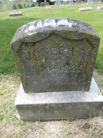 MILLER, JOSEPH R. - Franklin County, Ohio | JOSEPH R. MILLER - Ohio Gravestone Photos
