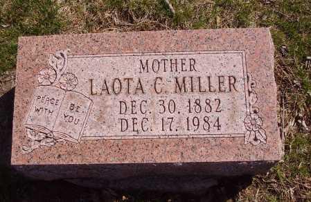 MILLER, LAOTA C. - Franklin County, Ohio | LAOTA C. MILLER - Ohio Gravestone Photos