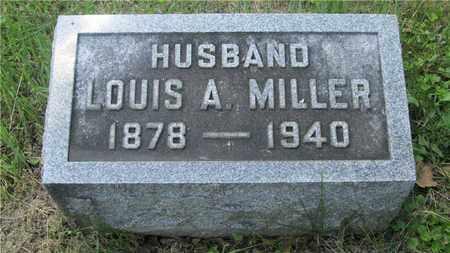 MILLER, LOUIS A. - Franklin County, Ohio | LOUIS A. MILLER - Ohio Gravestone Photos