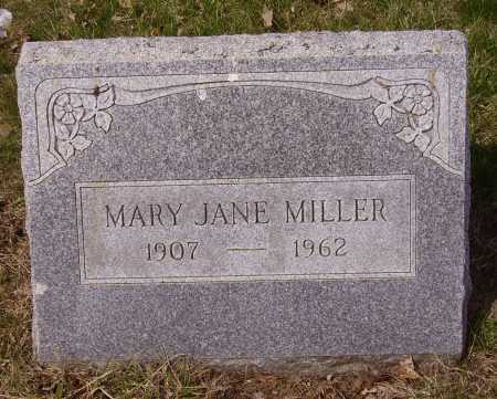MILLER, MARY JANE - Franklin County, Ohio | MARY JANE MILLER - Ohio Gravestone Photos